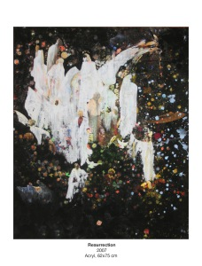 Resurrection - Konst av Susanna Odén