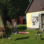 målarkurs Livsträdgården